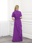 ValStefani MB7362 short mother of the bride dresses with sleeves