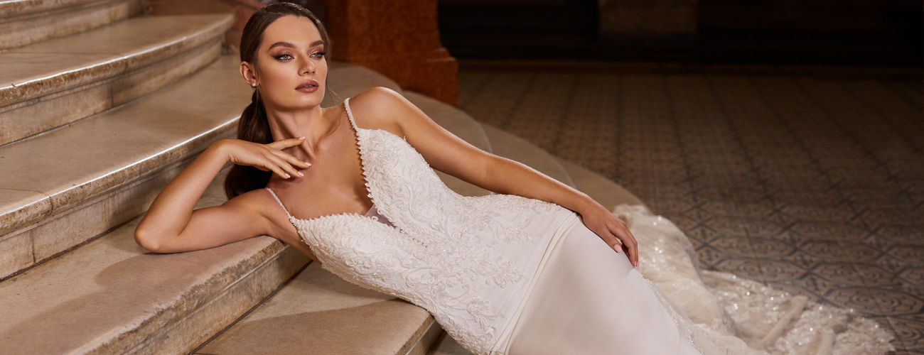 Shop Swarovski Beaded Bridal Gowns And Couture Bridal