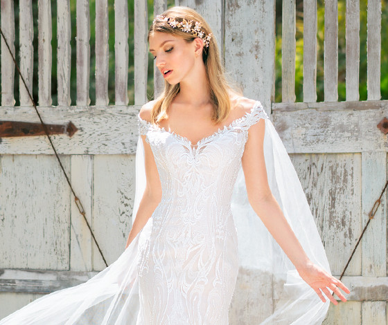 Shop Swarovski Beaded Bridal Gowns And Couture