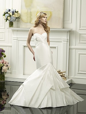 ValStefani CELESTIA Swarovski beaded and lace wedding dresses