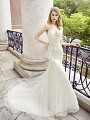 Val Stefani CALLA lavishly embellished mermaid wedding dress with soft godets