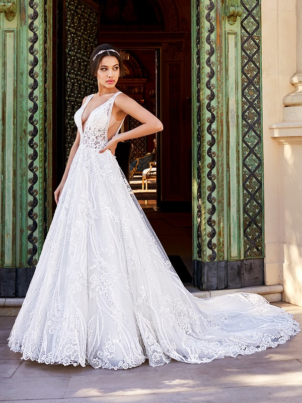 ValStefani LUCIANA lavish designer wedding dresses for the fancy bride