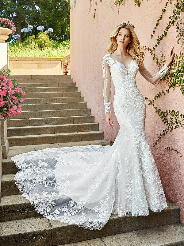 ValStefani D8185 lavish designer wedding dresses for the fancy bride