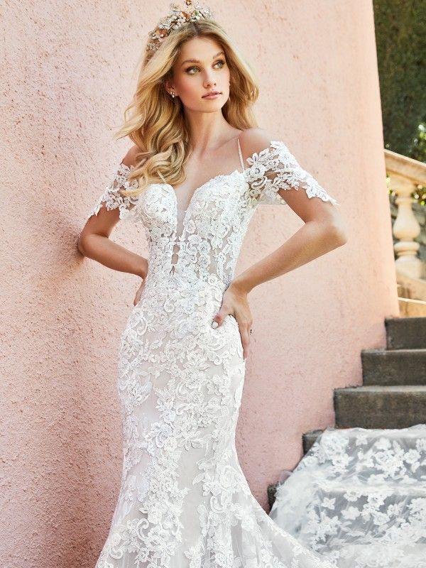 ValStefani EDITA low back bridal gowns and beautiful back wedding dresses