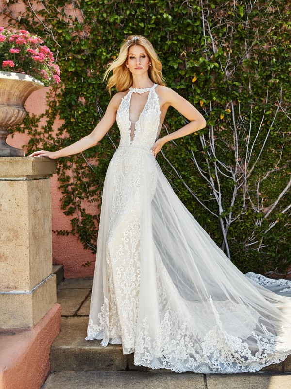 ValStefani SAVONA low back bridal gowns and beautiful back wedding dresses