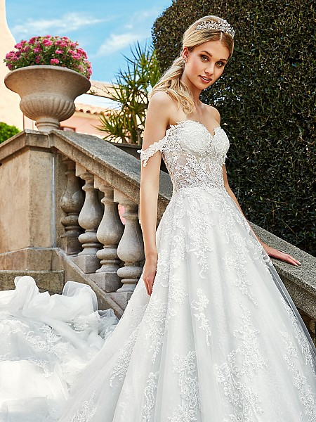ValStefani D8189 lavish designer wedding dresses for the fancy bride
