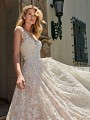 ValStefani ORION brushed shimmer a-line tulle wedding dress