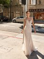 Val Stefani URSA sequin mermaid bridal gown with sweetheart neckline