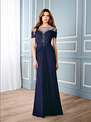 ValStefani MB7541 designer mother of the bride evening dress for weddings
